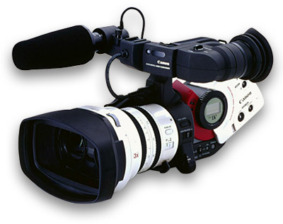 Shows Full Professional Digital Camcorder