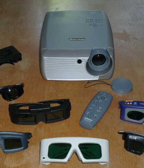 InFocus DepthQ 3D-projector